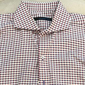 Zachary Prell Gingham Dress Shirt - Size M